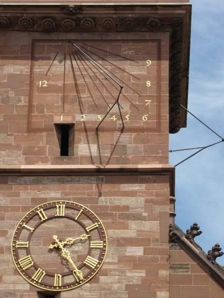 Basel church sun dail