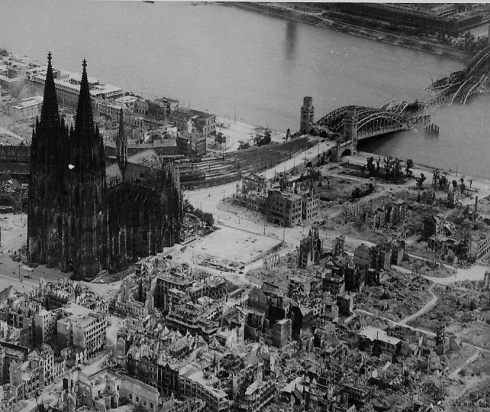 Cologne Cathedral WWII