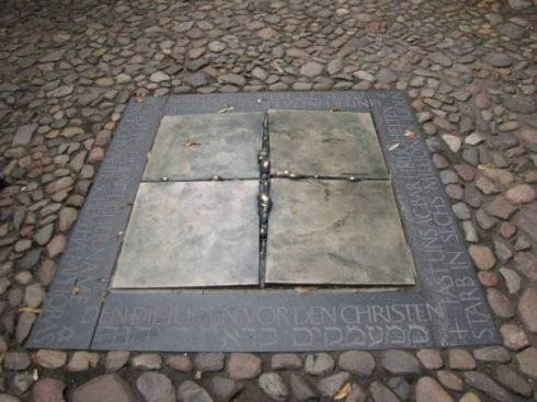 Holocaust monument in Wittenberg