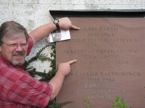 Karl Barth grave