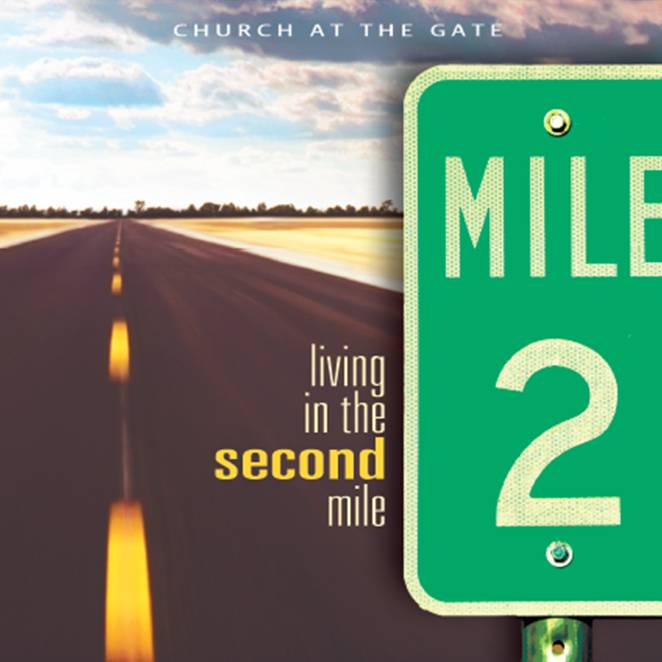Living in the Second Mile – my new Sermon on the Mount ...