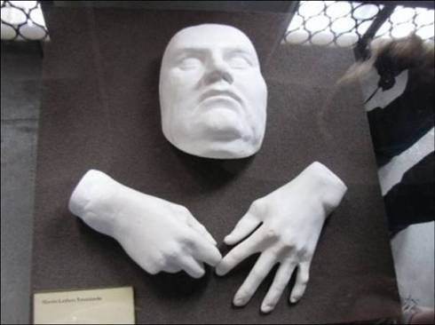 Luther's death mask 2