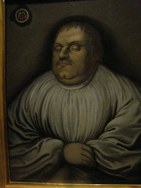 Luther's death portrait