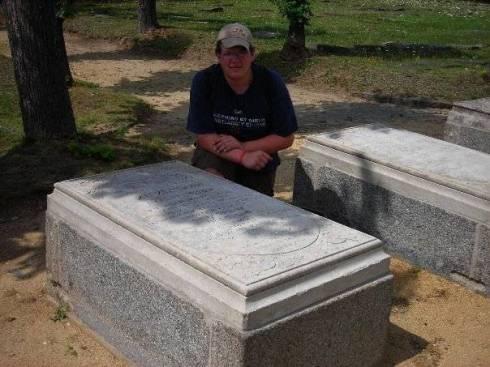 Zinzendorf's grave