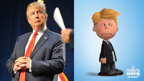 Borrowed from: Here's What a Bunch of Famous People Look Like as Peanuts Characters